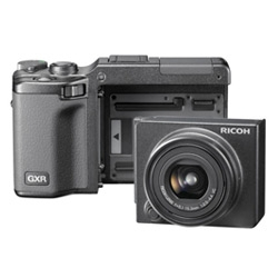 Ricoh goes modular with their latest digicam... the GXR camera system