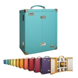 Series of 11 cases for Ricola by luxury trunk designer Fred Pinel.