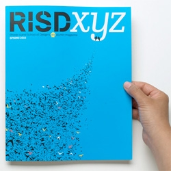 RISDxyz ~ the alumni mag gets a makeover ~ redesigned by Metropolis Creative Director and RISD alum Criswell Lappin ~ CoolHunting has a great interview and peek inside!