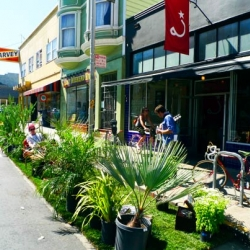 Inhabitat has great coverage of this year's Park(ing) Day.
