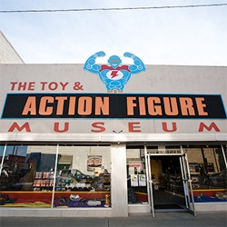 """The Toy & Action Figure Museum ~ Wired's slideshow is great and they title it """"Giant Midwest Mecca of Nerditude in Oklahoma"""""""