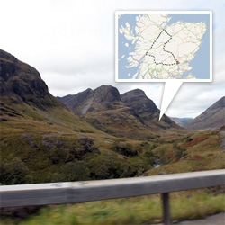 Adventures on an epic one day roadtrip through the Scottish Highlands... the views are stunning!