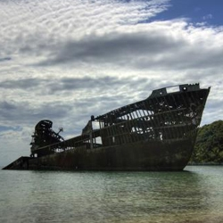 A selection of amazing pictures of beach shipwrecks from around the world.