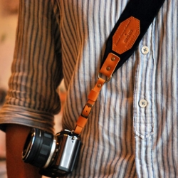 Japanese brand Roberu-6Shiki released this cool camera strap for those who want to look stylish while taking pictures.
