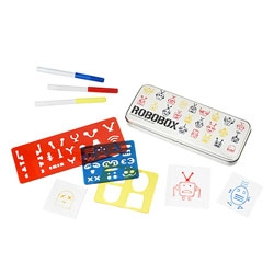 Robobox, the robot stencil kit.