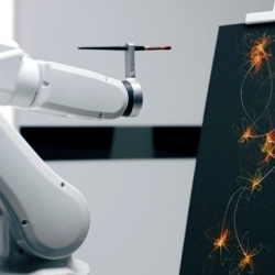 Ibis Hotels offer Sleep Art - that uses a robot arm to make your night's sleep into real works of art ...