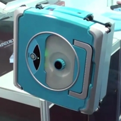 Video of 'Windoro', a robot window cleaner.
