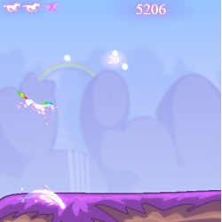 Robot Unicorn Attack lets you prance and dash through a magical world collecting fairies and experiencing life as a mythical robotic unicorn.