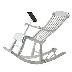 The World's first power generating iPad Rocking Chair.