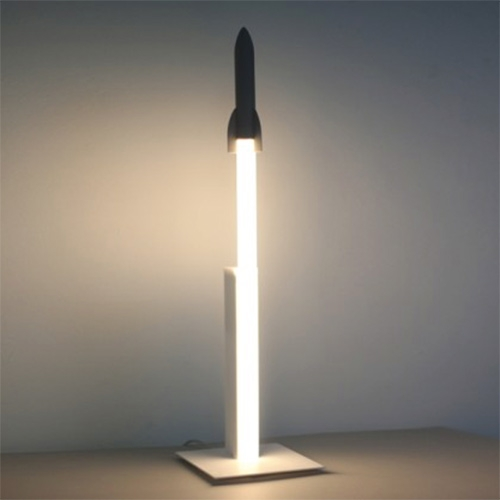 Wannekes Rocket Desk Lamp! by Arnout Meijer Studio