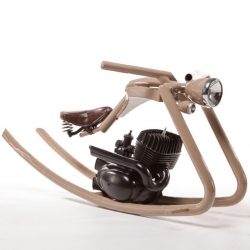 check out this brilliant rocking horse by german designer Felix Goetze