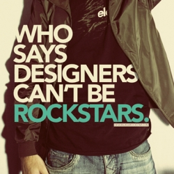 "A site looking to feature ""rockstar designers"" for free, though their design creative testing process is questionable."