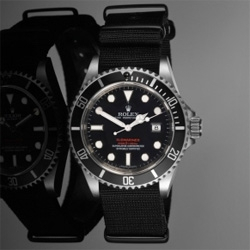 Rolex 16610LV Green Bezel PXD SS3 - The PXD SS3 'Red Depth' is an exclusive Limited Edition run of 24 customised original Stainless Steel Rolexs Submariner LVs.