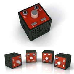 """rolling cube"" radio,Rolling & Tumbling."