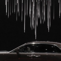 Beautiful 2D Animation of the Rolls-Royce GHOST. World Premiere by Gate 11 and 12frames studio.