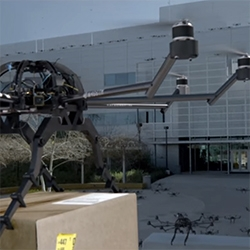 Audi's 'The Drones' advert is a fun satirical look at... packaging drones attacking in the style of The Birds?