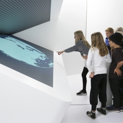 'Inside The Mobile Phone' is a new interactive exhibition in Denmark, designed as an immersive experience where you, the visitor, can play your way to new knowledge about your mobile phone.
