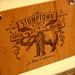 Roots Cafe in Brooklyn serves Stumptown Coffee and blows minds.