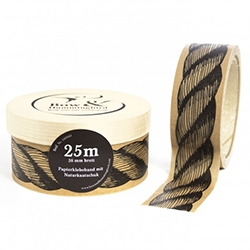 Bow & Hummingbird Rope Packaging Tape