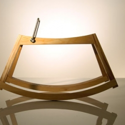 Rosa is a well designed modern rocking horse version.