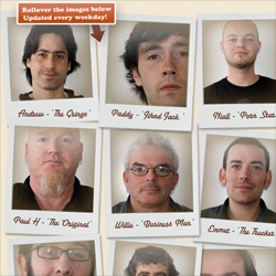 Marvel as the men of Rothco demonstrate their uncanny ability to produce facial hair in aid of Action Prostate Cancer. Watch it grow before your very eyes. Updated daily!