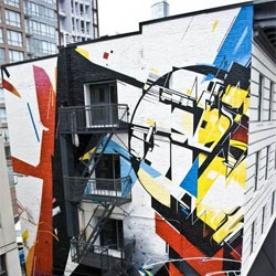 New street art from Remi Rough, Augustine Kofie, Jerry Inscoen and Scott Sueme in Vancouver.