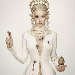 'Royal Blood' is a sinfully delicious & macabre photography series by Dutch photographer Erwin Olaf.