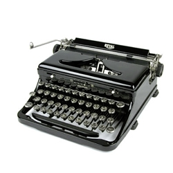 myTypewriter.com sells a wide range of classic typewriters and typewriting accessories.