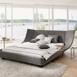 German bedroom furniture manufacturer RUF|Betten is producing a growing collection of contemporary beds from designers such as Schnabel & Schneider, Petra Panreck, and Brigitte Lichtner