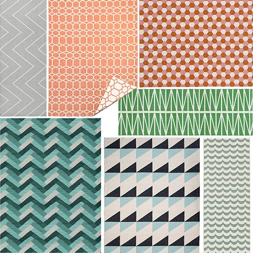 Brita Sweden - bright, colorful rugs with great prints and patterns.