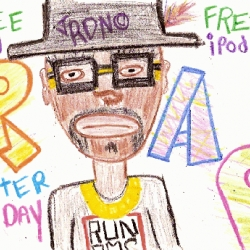 Format Mag is offering a  free iPod to the best hip-hop crayon artist on the Internet.