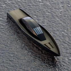"""The """"Raven Yacht"""" by Maël Oberkampf"""