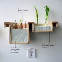 Designer Jihyun Ryou invents analog kitchen contraptions that teach users how to preserve food without a refrigerator.