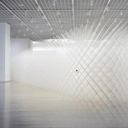 Cornfield installation by Ryuji Nakamura.