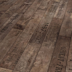 great new wood flooring by Parador - inspired by an old warehouse