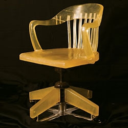 Soap Chair by Nancy Wu.