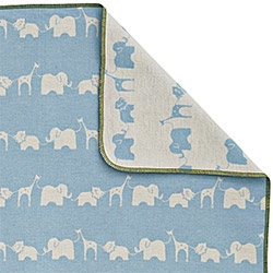 Serena & Lily adorable Safari Baby Blankets - collaboration with acclaimed Austrian textile company David Fussenegger. Supremely soft flannel blankets.