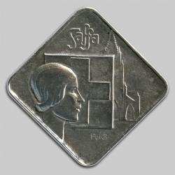 Silbermedaille - Médaille d'argent - Silver medal :: SAFFA ~ Schweizerische Ausstellung für Frauenarbeit ~ BERN 1928