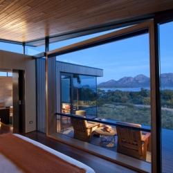 Saffire Freycinet looks stunning! A new luxury resort that has just-opened on Tasmania's East Coast.