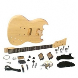 The Sage electric guitar kit lets you create a real Custom Shop musical instrument masterpiece.