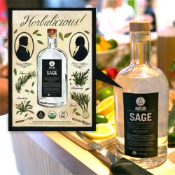Art In The Age's newest spirit: SAGE! It's a delicious follow up to Root, Snap, Rhuby... and take a peek into its organic distillery, GreenBar Collective in downtown LA! The copper still it's made in is a work of art.