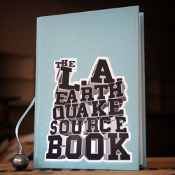 I love Core77 Book Reviews ~ Book Review: The L.A. Earthquake Sourcebook, designed by Stefan Sagmeister and edited by Gloria Gerace