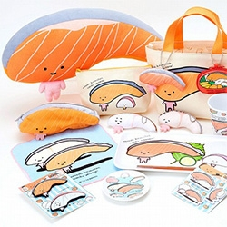 Salmon lovers - check out Kirimi, the latest character to join the Sanrio family.