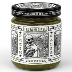 Definitely eye-catching Salsa packaging for an unknown brand to establish credibility & distinguish itself from the rest. Designed by Moxie Sozo, the packaging hand-drawn illustration is inspired by Mexican artist Jose Guadalupe Posada.