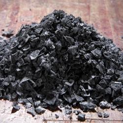 Turkish Black Pyramid Sea Salt ~ love the charcoal like shards