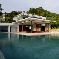 Samujana is a residential development designed by Gfab Architects on the island of
