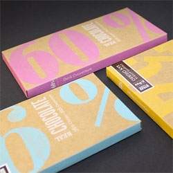 Studio Alto's packaging for San Churro Real Chocolate.