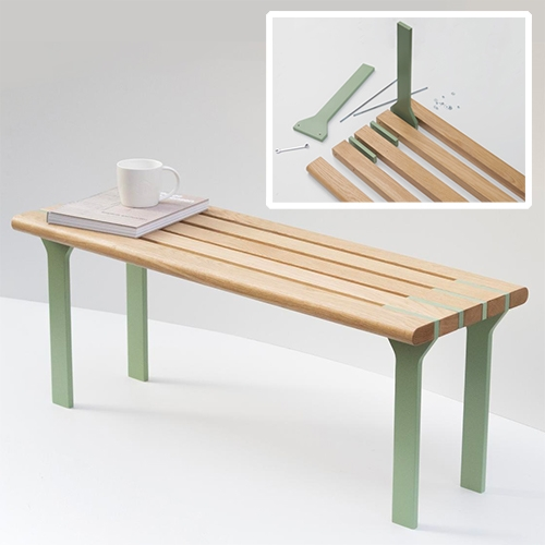 Sandwich Bench by Goncalo Campos
