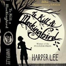 "Sarah J. Coleman illustrates the 50th anniversary edition book cover of ""To Kill A Mockingbird"" by Harper Lee"