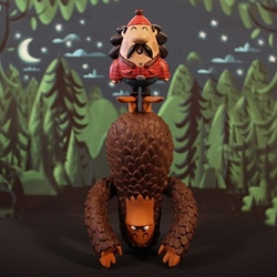 Sasquatch! Invisible Creature x Velocity Art & Design – Salvator & George Toy Release